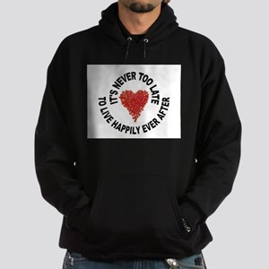 LOVE CONQUERS ALL Hoodie (dark)