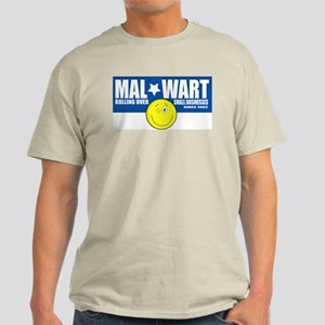 Mal-Wart Ash Grey T-Shirt