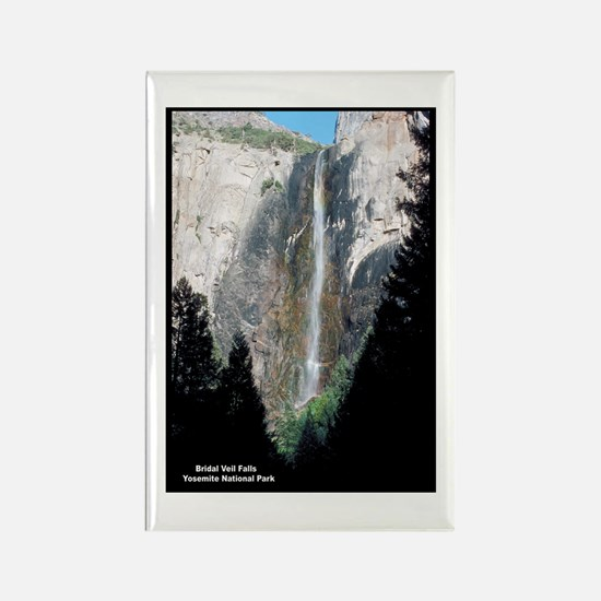Yosemite Bridal Veil Falls Rectangle Magnet