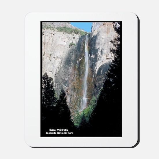 Yosemite Bridal Veil Falls Mousepad