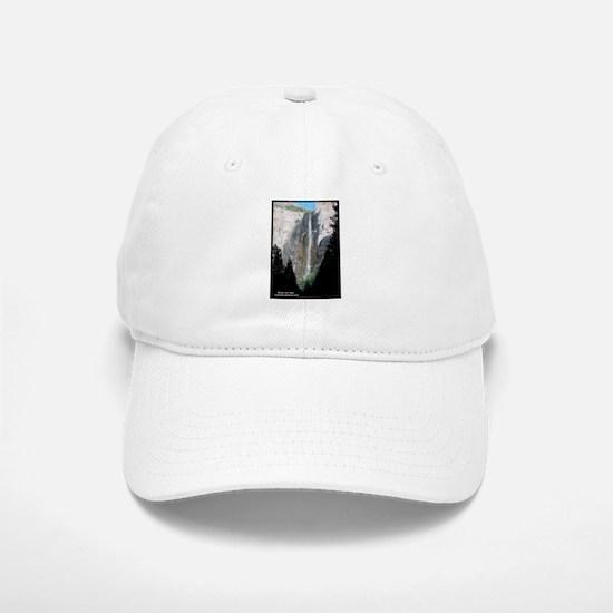 Yosemite Bridal Veil Falls Baseball Baseball Cap