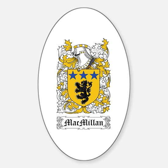 MacMillan Sticker (Oval)