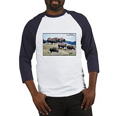 Yellowstone Buffalo Herd Baseball Jersey