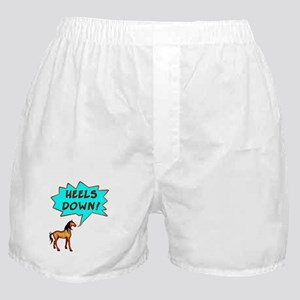 Heels Down with Horse  Boxer Shorts