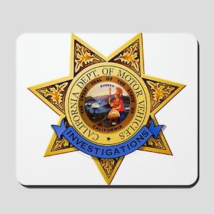 California DMV Investigator Mousepad