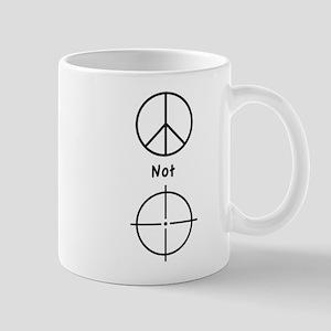 Peace Not Violence - Mug