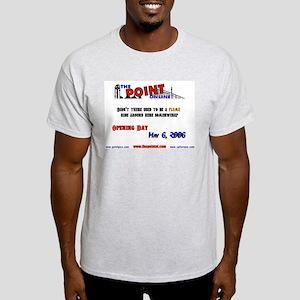 Bring On The Swing Ash Grey T-Shirt