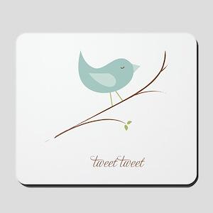 Tweet Bluebird Mousepad
