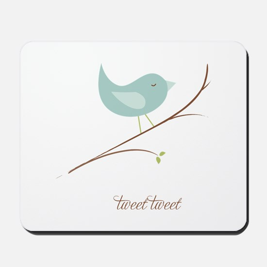 Tweet Bluebird Mousepad
