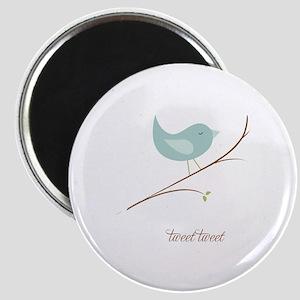 Tweet Bluebird Magnet