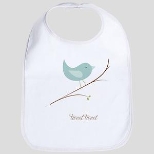 Tweet Bluebird Bib