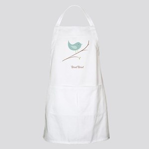 Tweet Bluebird Apron