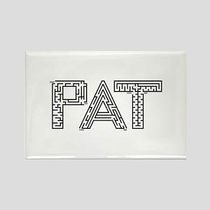 Pat Maze Rectangle Magnet