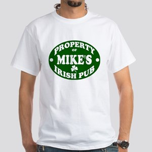Mike's Irish Pub White T-Shirt