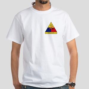 Hellcat White T-Shirt