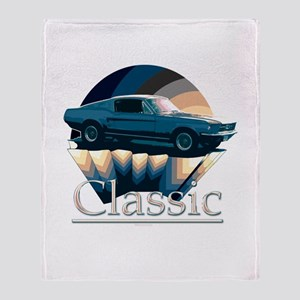Ford mustang Throw Blanket