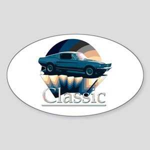 Ford mustang Sticker (Oval)