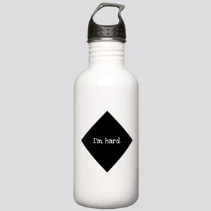 """""""I'm hard."""" Stainless Water Bottle 1.0L"""