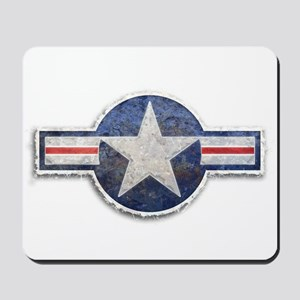 USAF US Air Force Roundel Mousepad