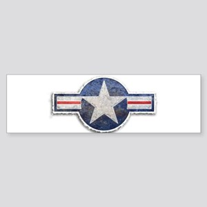 USAF US Air Force Roundel Sticker (Bumper)