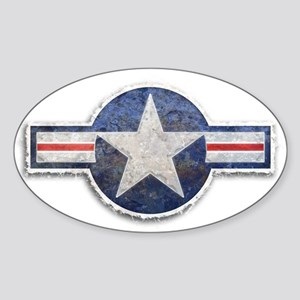 USAF US Air Force Roundel Sticker (Oval)