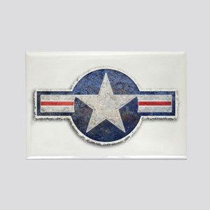 USAF US Air Force Roundel Rectangle Magnet