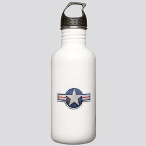 USAF US Air Force Roundel Stainless Water Bottle 1