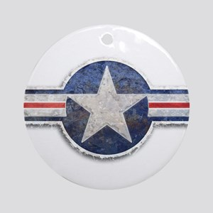 USAF US Air Force Roundel Ornament (Round)