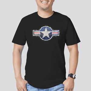 USAF US Air Force Roundel Men's Fitted T-Shirt (da