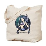 Babes With Blades Tote Bag