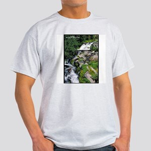 Mount Rainier Cascade (Front) Ash Grey T-Shirt