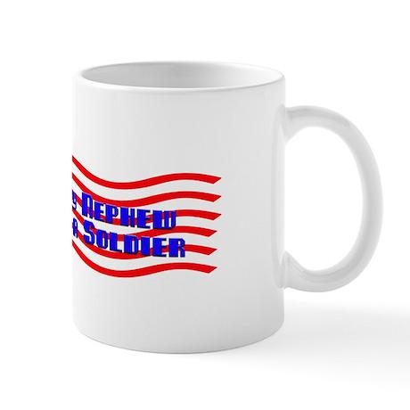 Nephew Is A Soldier Mug
