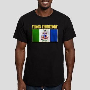 Yukon Territory Men's Fitted T-Shirt (dark)