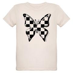 Checkered Butterfly T-Shirt