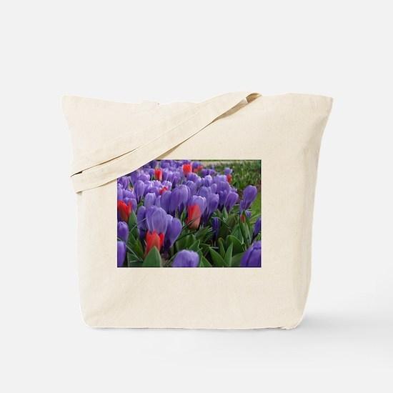 Cute Tulip Tote Bag