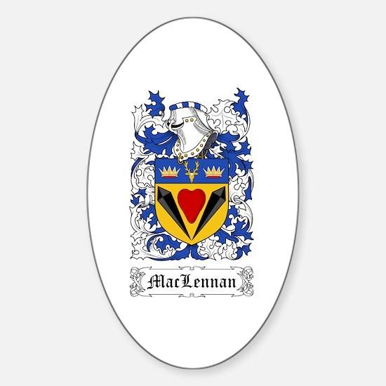 MacLennan Sticker (Oval)