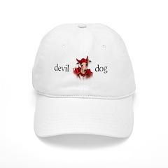Italian Greyhound Devil Dog Baseball Cap