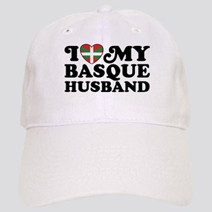 I Love My Basque Husband Cap