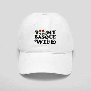 I Love My Basque Wife Cap