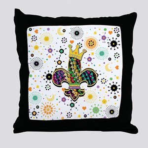 Fleur Celebrate Throw Pillow