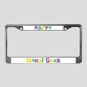 Fleur Celebrate License Plate Frame