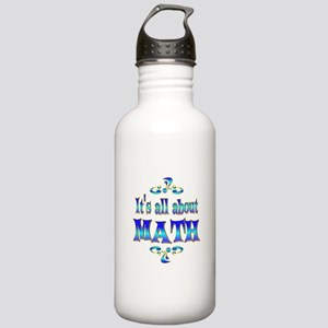 About Math Stainless Water Bottle 1.0L