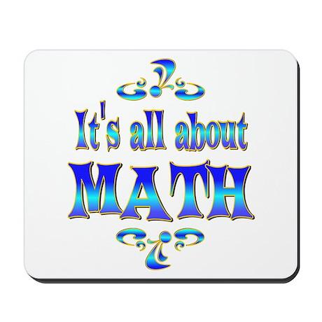 About Math Mousepad