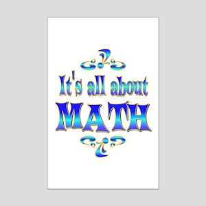 About Math Mini Poster Print