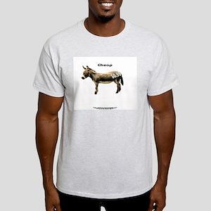 Your Basic CheapASS! Ash Grey T-Shirt