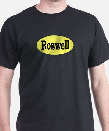 Roswell, New Mexico Black T-Shirt