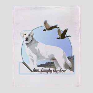 Labs simply the best Throw Blanket