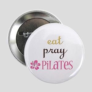 "Pilates 2.25"" Button"