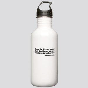 Ben Quote Stainless Water Bottle 1.0L