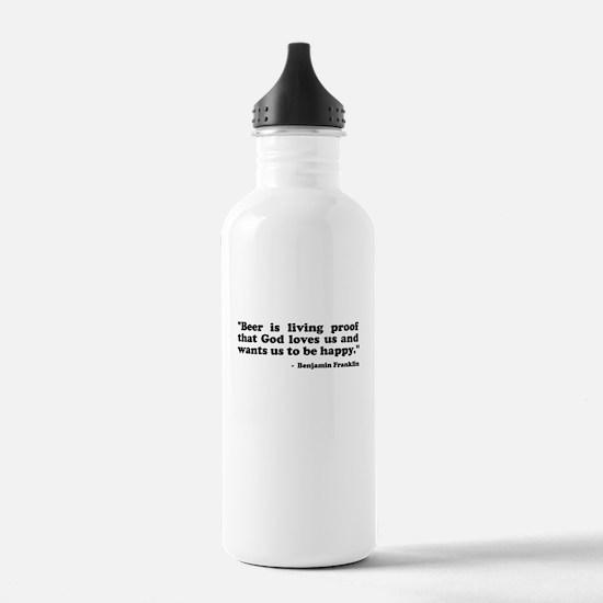 Ben Quote Water Bottle